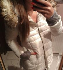 Belo siva jakna