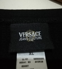 VERSACE JEANS COUTURE CRNA BLUZA