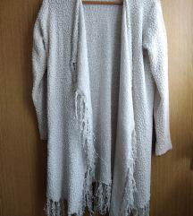 Amisu beli plišani džemper