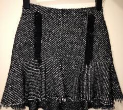 Crno-bela suknjica