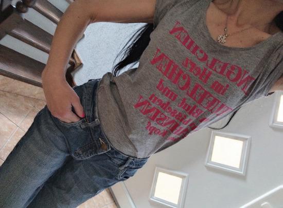 Majica siva