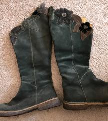 Kozne cizme zelene