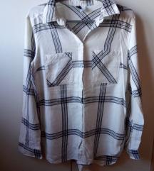 H&M karirana bež košulja