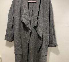 Zara sivi tanji kaput