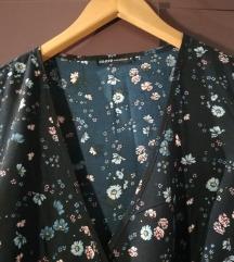cvetna dugacka haljina