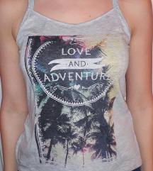 Majica 'Love&Adventure'