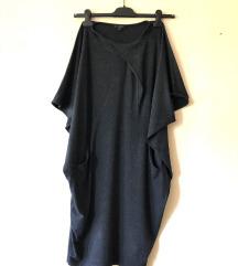 COS original siva haljina - viskoza