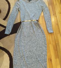 Amisu siva  haljina