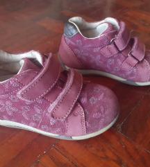 Ljubicaste/bordo Ciciban kozne cipele na cicak,24