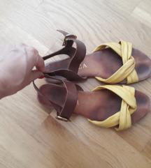 Italijnske sandale,koza