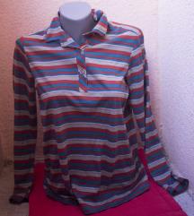 Vintage prugasta majica dugih rukava