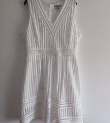 h&m nova bela haljina
