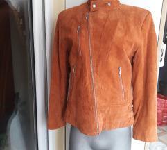 Joy topla postavljena kozna jakna M/L
