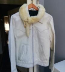 Kozna jakna sa nercom 40