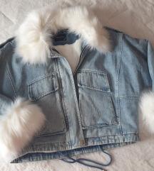 Postavljena texas jakna