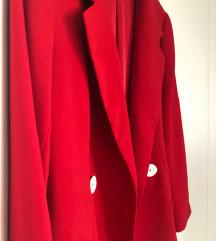 Zara crveni sako, nov