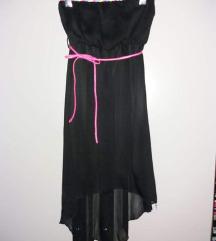 Crna letnja haljinica