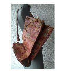 torba kožna kao ranac indijski motivi
