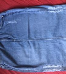 AKCIJA 799 Din Zara teksas suknja