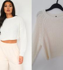 H&M beli crop knit dzemper XS-S