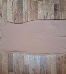 Zara uska krem haljina
