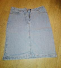 Jeans mini suknja, SNIZENA
