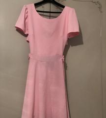 Haljina roze kratka