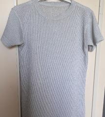 Majica bela sa lameom 36