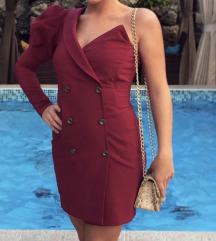 Sivena haljina po meri-KAO NOVA!