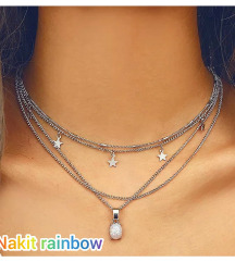 💛Preslatka višeslojna ogrlica