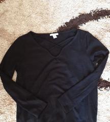 Amisu crni džemper