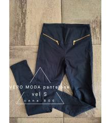 Vero moda plave pantalone S,M