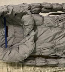 Zimska perjana jakna sa šal kragnom M vel