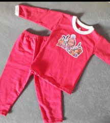 Pidžama za devojčice Maša i meda