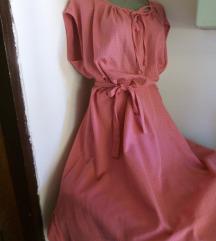 Roze haljina 52/XXXL