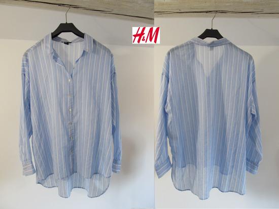 H & M moderna tunika košulja vel. 42