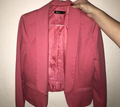 Roze elegantni sako