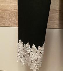 Zara zimske panatlone sa cipkom