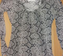 Zara zmijska bluza S
