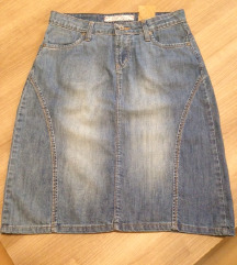 Teksas suknja Brug jeans, M, nova!