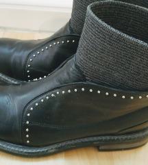 Neobične kožne cipele/gležnjače