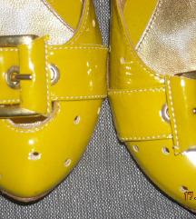 ZERODB atraktivne lak kozne cipele KAO NOVE