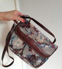 Mona torba(ručke i paspuli od prirodne kože)