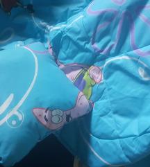 Jorgan i jastuce Sundjer Bob