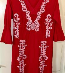 Nova maxi haljina sa vezom