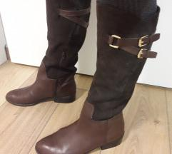 Ralph Lauren vrhunske kozne braon cizme