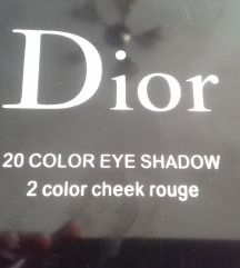 Dior 20 color eye shadow