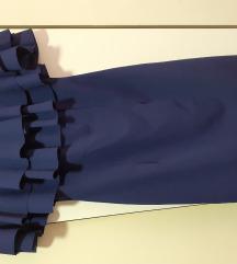Uska haljinica sa karnerom