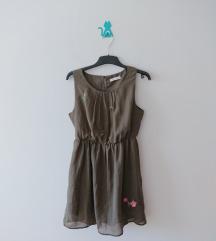 Maslinasto zelena haljina (Calliope) - sada 400