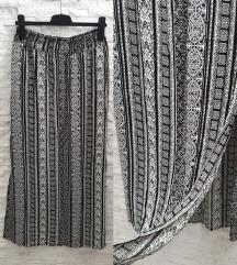 NOVA duga crno bela suknja (L)